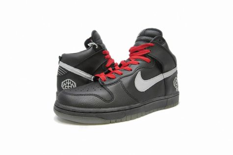 giay the thao pharrell williams Pharrell x Nike Dunk High (2004) - elle man