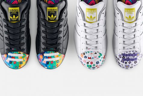 "giay the thao pharrell williams Pharrell x adidas Originals ""Supershell"" Collaboration (2015) - elle man 3"