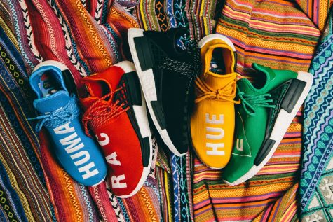 "giay the thao pharrell williams Pharrell x adidas Originals NMD ""Human Race"" (2016) - elle man 1"