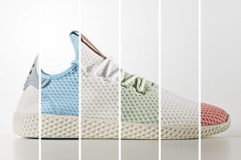 giay the thao pharrell williams adidas tennis hu - elle man 3