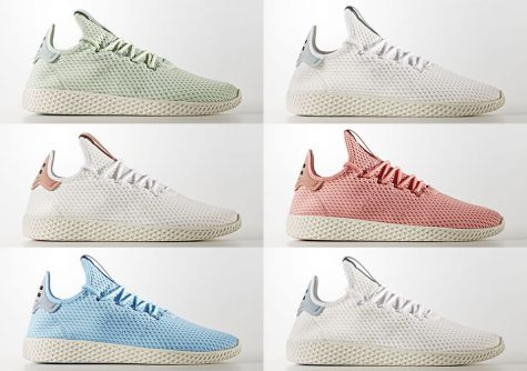 giay the thao pharrell williams adidas tennis hu - elle man 4