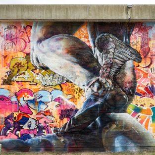 Nghệ thuật đường phố đẹp tuyệt vời tại POW! WOW! Worcester 2017