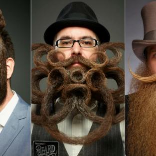 Những bộ râu đẹp ấn tượng từ The World Beard and Moustache Championship 2017