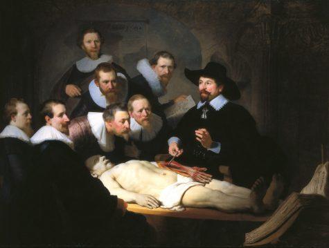 hoi hoa phuc hung The Anatomy Lesson by Rembrandt - elle man 1