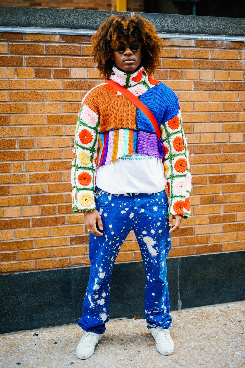 Street style nam nổi bần bật tại tuần lễ thời trang nữ New York, Xuân –Hè 2017-18
