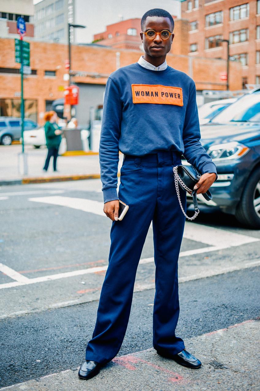 Street style nam nổi bần bật tại tuần lễ thời trang nữ New York, Xuân –Hè 2017-181