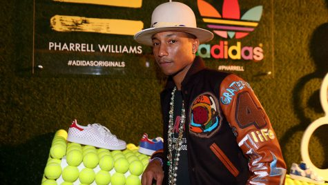 Pharrell Williams And Adidas Celebrate Collaboration
