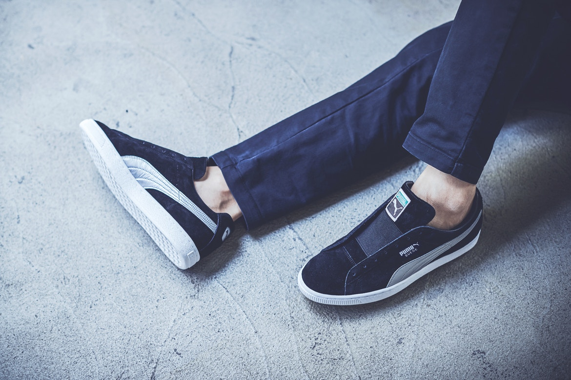 giày sneakers - elle man - BILLY x PUMA Suede Classic