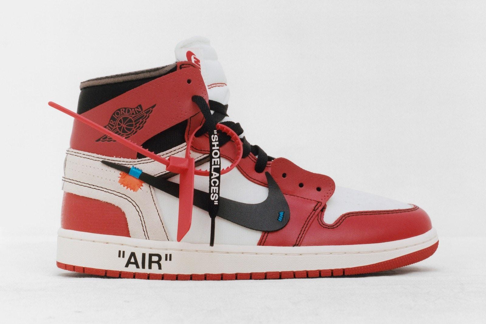 "giày sneakers - elle man - Virgil Abloh x Nike ""The Ten"" 2"