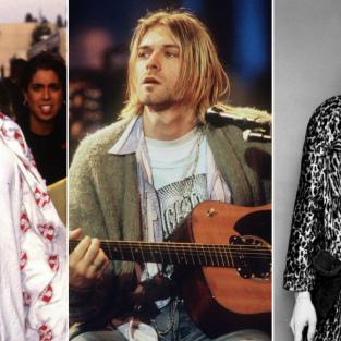 10 xu hướng thời trang trước thời đại của Kurt Cobain