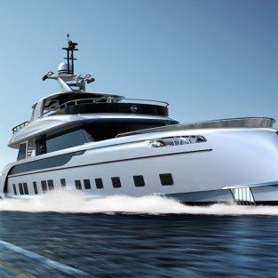 Ngắm nhìn siêu du thuyền triệu đô của Porsche