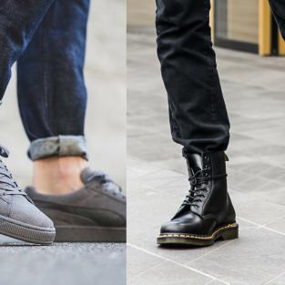 5 kiểu giày nam đi đầu xu hướng mùa Thu-Đông 2017