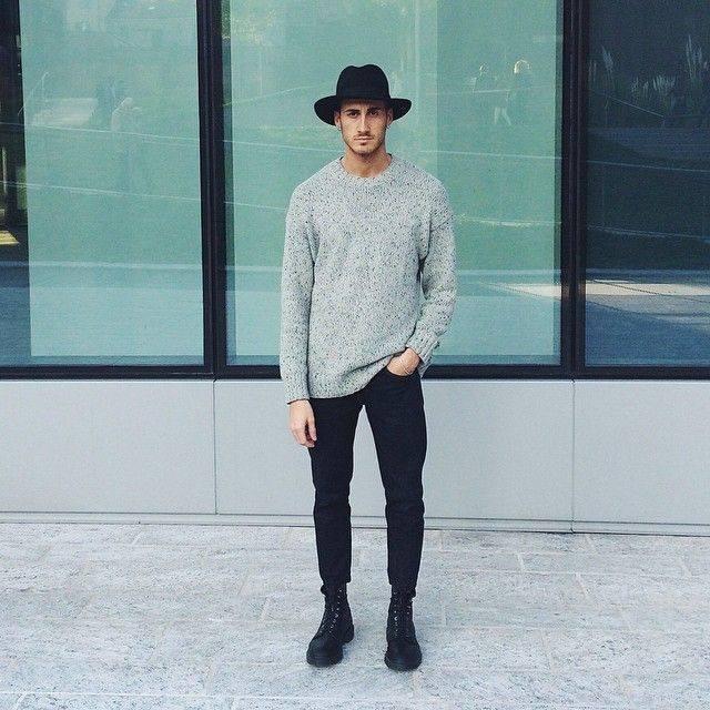 ELLE Man Style CalendarBack to basic cung ao sweater xam 2