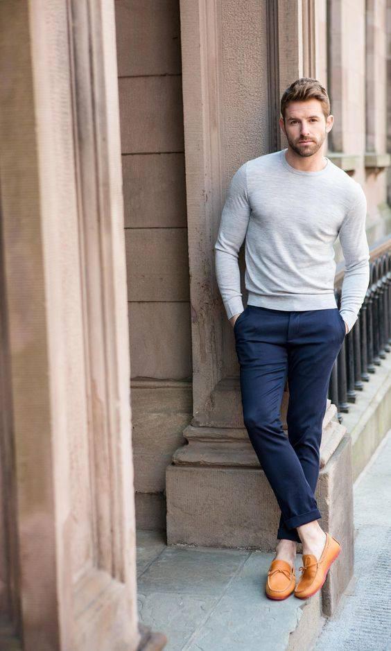 ELLE Man Style CalendarBack to basic cung ao sweater xam 6