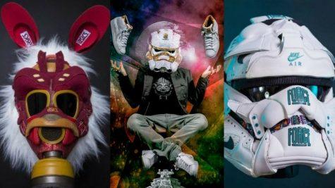 Freehand Profit - Mặt nạ nghệ thuật nghìn đô từ giày sneaker