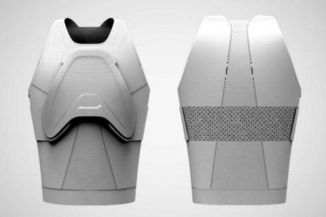 McLaren và siêu áo giáp trị giá trăm nghìn đô