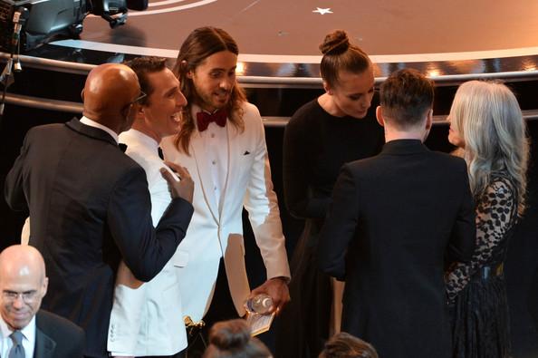 Leto và McConaughey luôn sánh vai bên nhau tại lễ trao giải Academy Award năm 2014 (Ảnh: Zimblo)