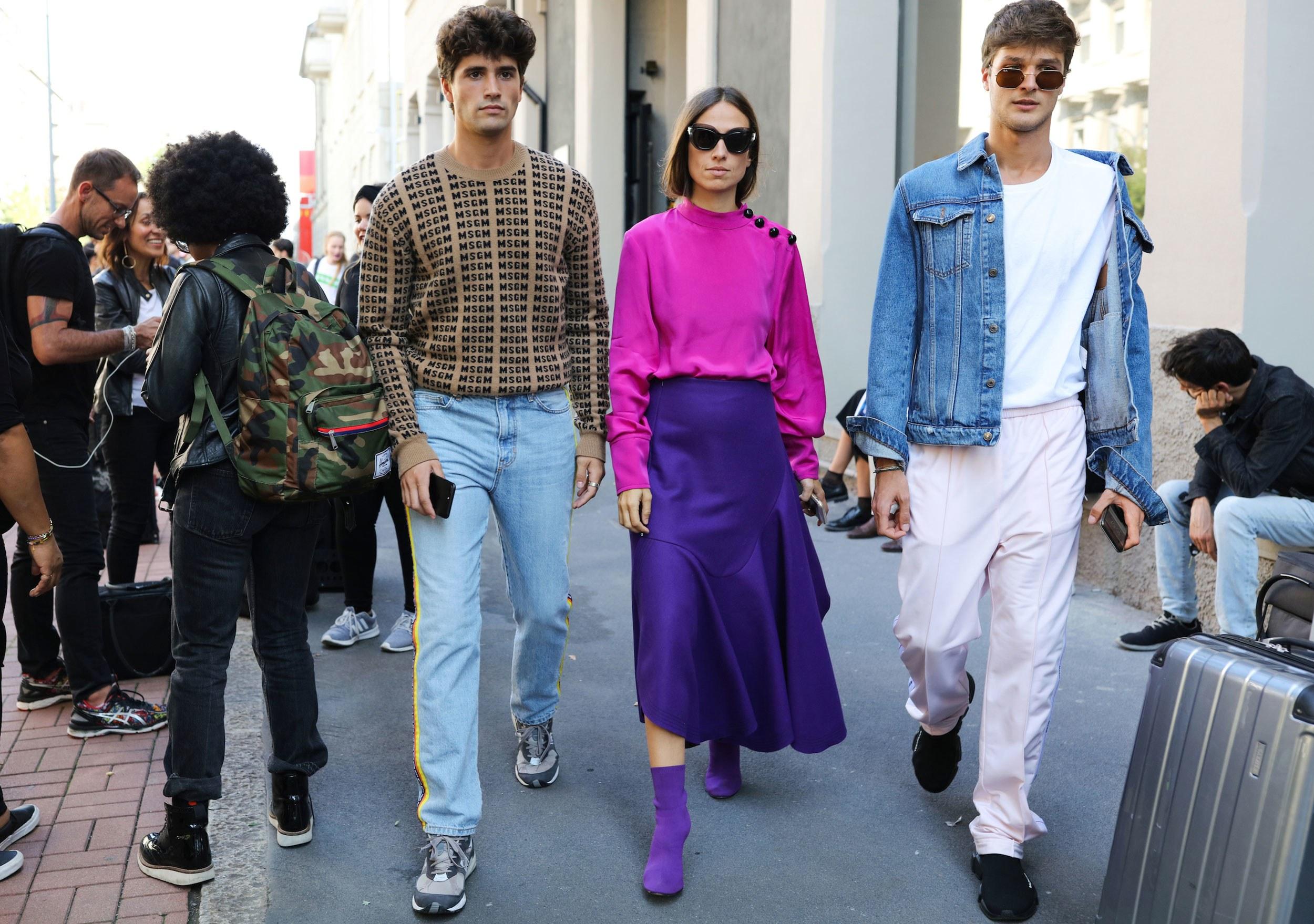 Street style Paris tại tuần lễ thời trang Xuân-Hè 201718 elleman1