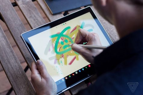 may tinh chromebook google pixelbook - elle man 5