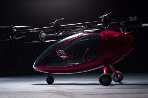 Passenger Drone - kẻ tiên phong tương lai của taxi hàng không