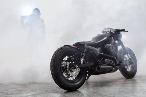 Dark Side – siêu phẩm motor độ lấy cảm hứng từ phản lực cơ của Bandit9