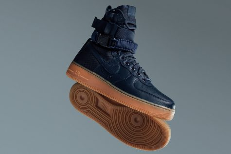 """giay the thao - Nike SF AF-1 """"Midnight Navy"""" - elle man 1"""