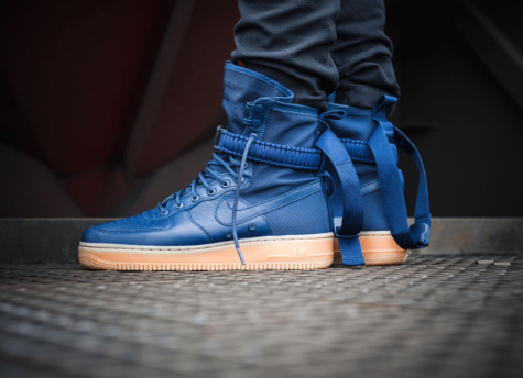 """giay the thao - Nike SF AF-1 """"Midnight Navy"""" - elle man 4"""