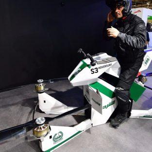 Mô-tô bay – Phương tiện tuần tra mới của cảnh sát Dubai