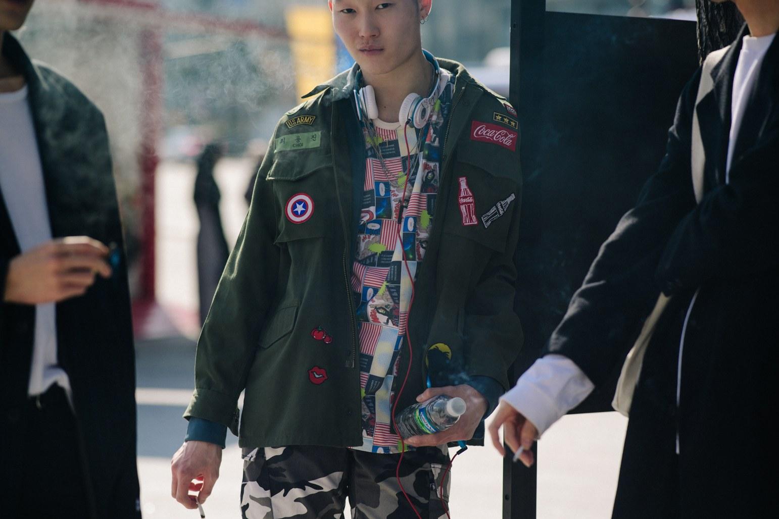 Cac street style look tuyet dep tai Seoul Fashion Week Xuan He 2018 11