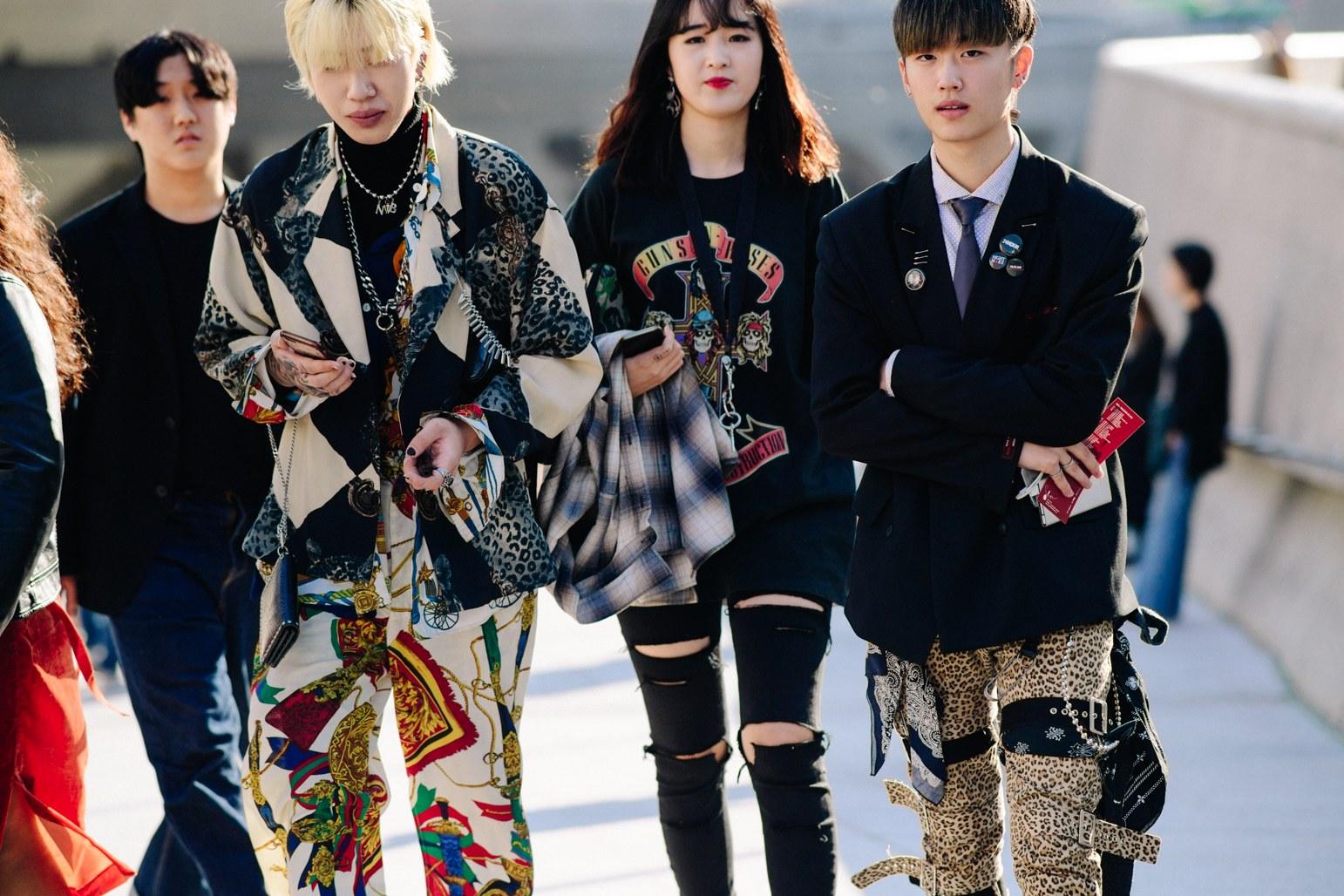 Cac street style look tuyet dep tai Seoul Fashion Week Xuan He 2018 12