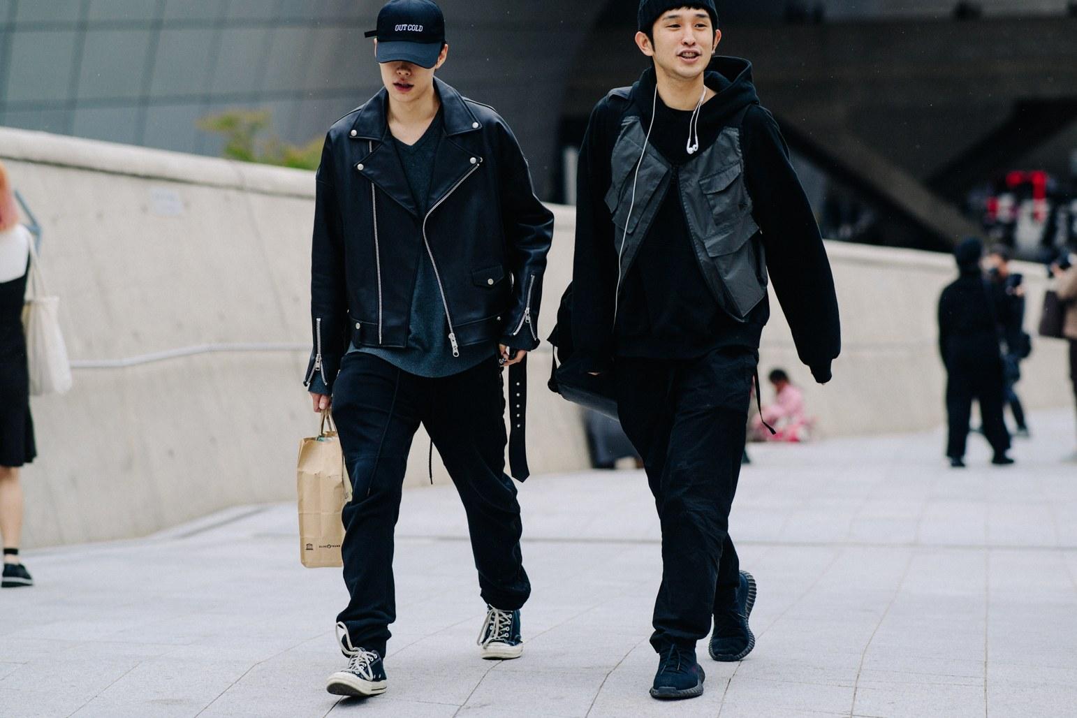 Cac street style look tuyet dep tai Seoul Fashion Week Xuan He 2018