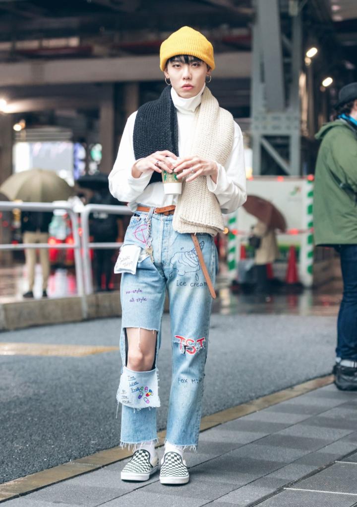 Th I Trang Ng Ph T I Tokyo Fashion Week Xu N H 2018 Elle Man