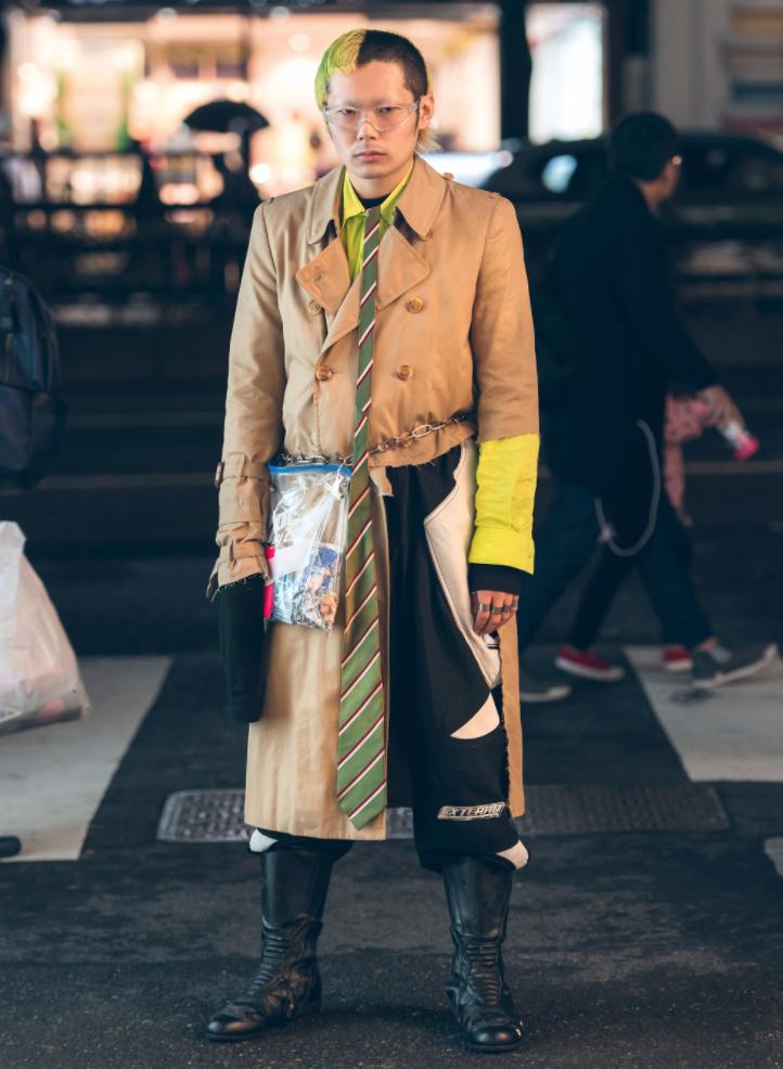 Thoi trang duong pho cuc chat tai Tokyo Fashion Week Xuan He 201824