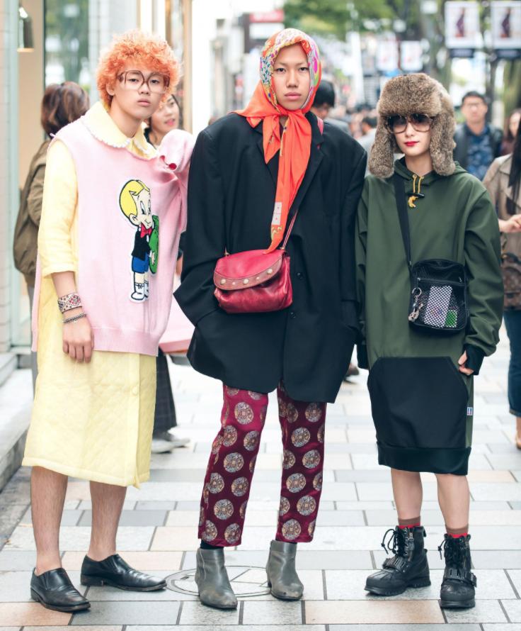 Thoi trang duong pho cuc chat tai Tokyo Fashion Week Xuan He 201831