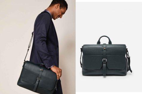 Cheeta Leather satchel £275