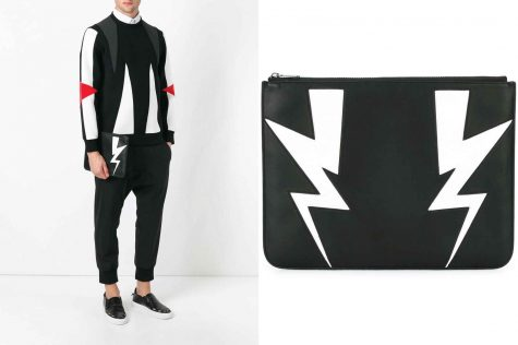 Lightning bolt clutch £225