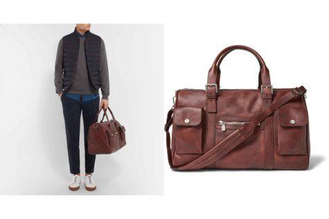Burnished-Leather Holdall £3,020