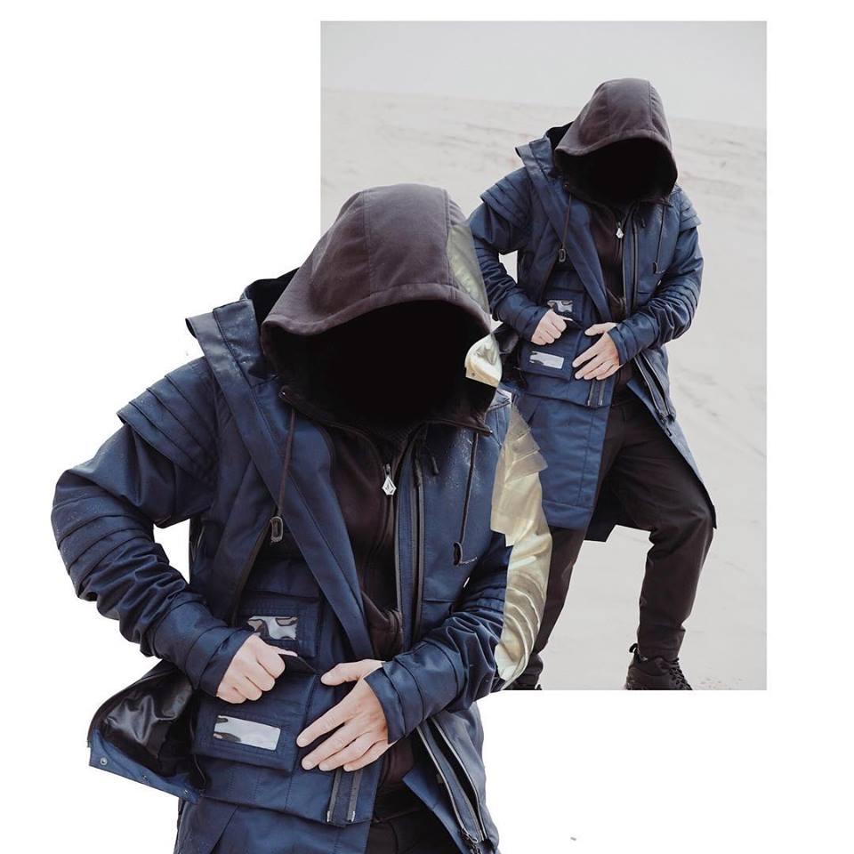 Tạo phong cách thời trang urban techwear với 5 thương hiệu bình dân- elle man2