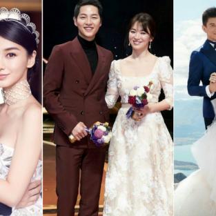 7 địa điểm cưới đẹp như mơ của các ngôi sao châu Á