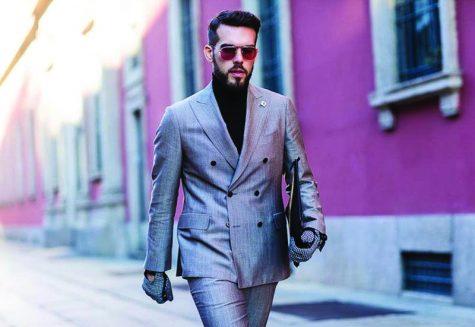 """Học cách phối đồ """"chuẩn"""" với suit và áo khoác blazer hai hàng nút"""