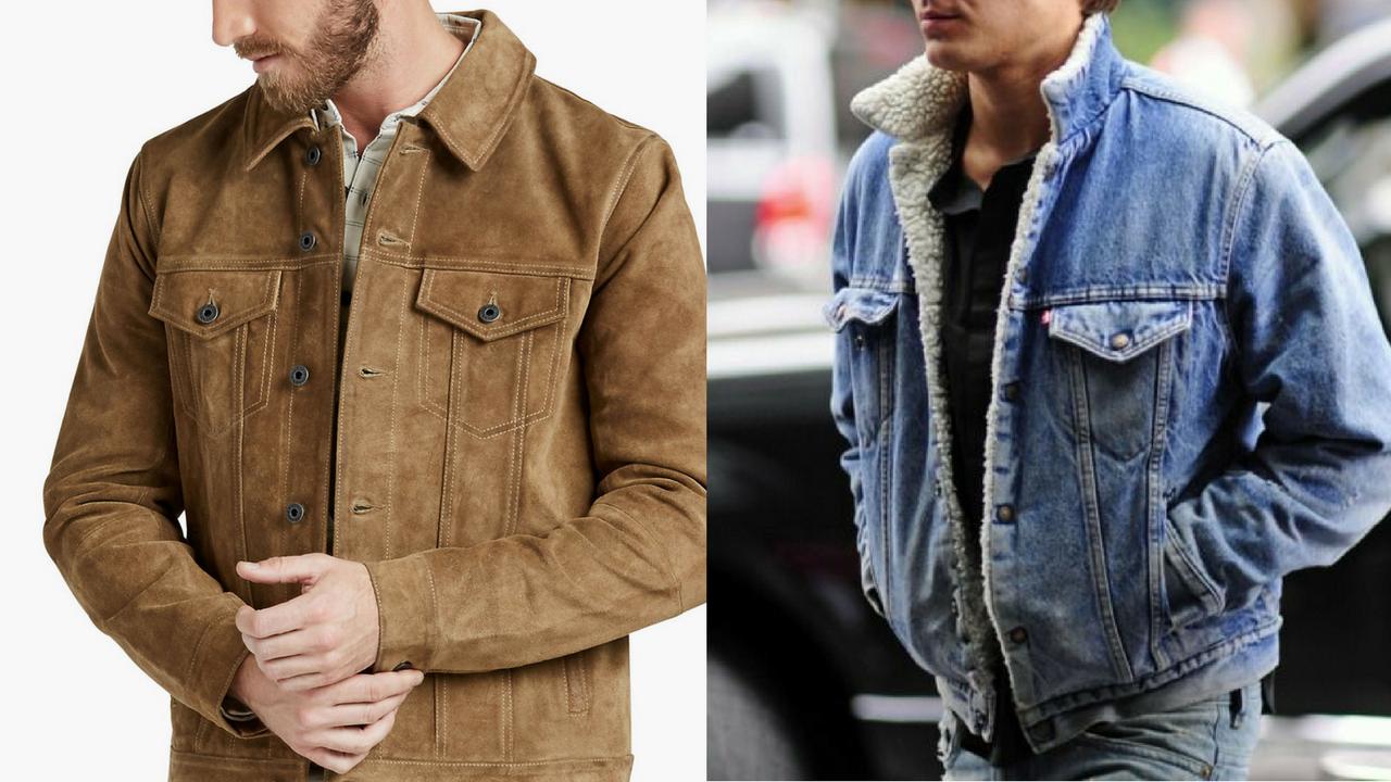 áo khoác nam - elle man