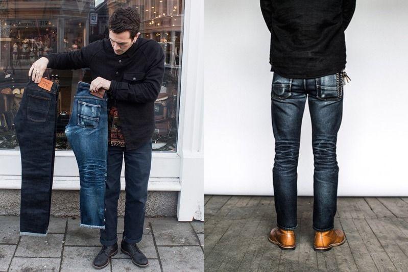 quan jeans nam - raw denim - elle man 1