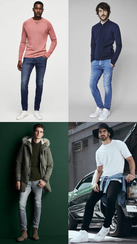 quan jeans nam - stretch denim - elle man