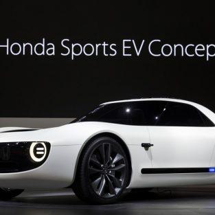 Honda trình làng mắt mẫu concept xe hơi điện thể thao đầu tiên