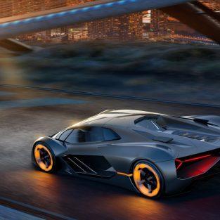 Lamborghini hé lộ siêu xe hơi điện Terzo Millennio