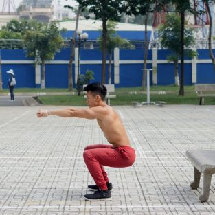 Tập Squat đúng cách cùng Châu Việt Sơn