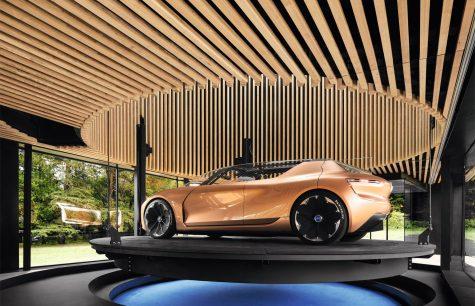 Xe hơi điện Renault Symbioz, khi xế hộp trở thành một phần không gian sống
