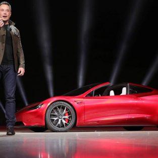 Siêu xe điện Tesla Roadster: Siêu sao mới của Elon Musk
