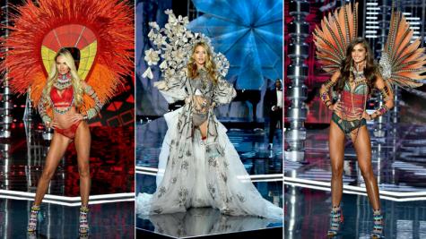 Ngắm nhìn những thân hình sexy nhất của dàn thiên thần Victoria's Secret 2017