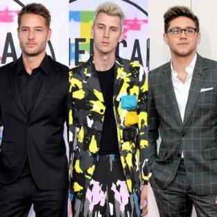 Phong cách thời trang ấn tượng của sao nam tại AMAs 2017